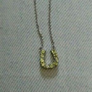 """Jewelry - """"u"""" necklace"""